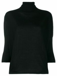 Ma'ry'ya roll neck jumper - Black