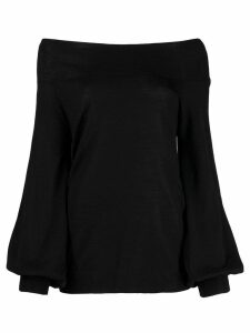 P.A.R.O.S.H. off-the-shoulder jumper - Black