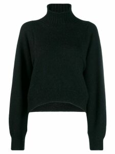 Erika Cavallini turtleneck jumper - Black
