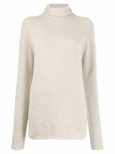 Ma'ry'ya long-line jumper - Neutrals