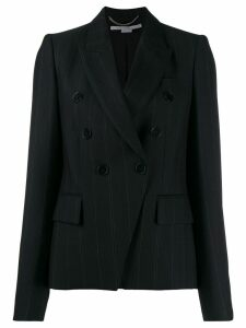 Stella McCartney pinstriped double-breasted blazer - Black