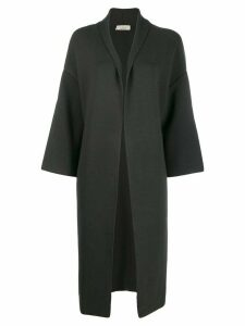 Ma'ry'ya open cardi-coat - Grey