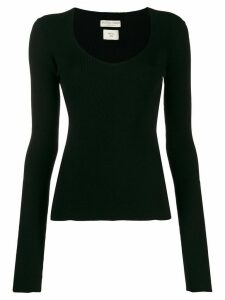 Bottega Veneta ribbed knitted jumper - Black