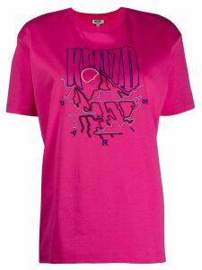 Kenzo logo T-shirt - PINK