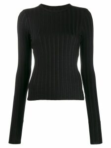 Simon Miller long-sleeve fitted sweater - Black