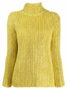 Ermanno Scervino roll neck jumper - Yellow