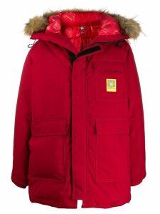 Brumal hooded padded jacket - Red