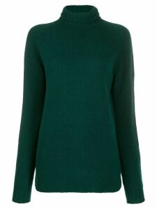 Ma'ry'ya roll neck jumper - Green