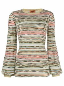 Missoni striped jumper - Green