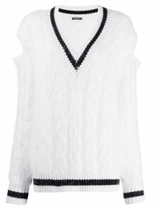 Balmain oversized cricket jumper - White