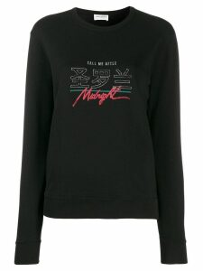 Saint Laurent Midnight sweatshirt - Black