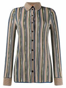 Missoni striped button shirt - Blue