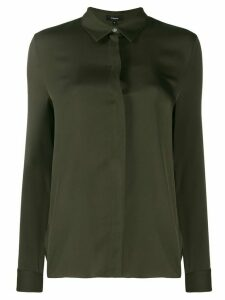 Theory long sleeved shirt - Green