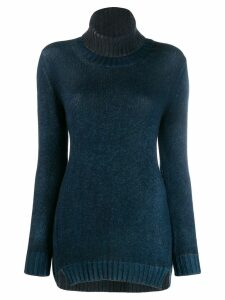 Avant Toi turtleneck jumper - Blue