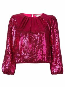 Alice+Olivia Avila sequinned top - Pink