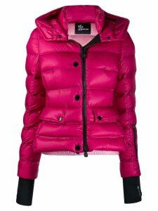 Moncler Grenoble slim fit puffer jacket - PINK
