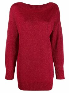 P.A.R.O.S.H. sparkly knit jumper - Red