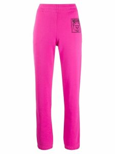 Moschino Teddy Bear track pants - Pink