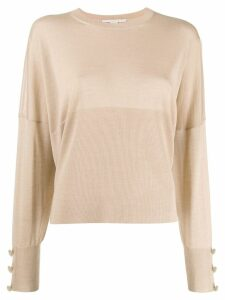 Stella McCartney relaxed fit jumper - NEUTRALS