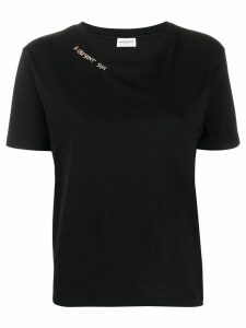 Saint Laurent logo T-shirt - Black