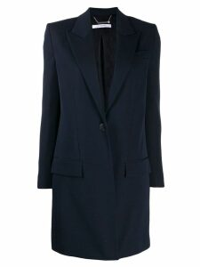 Givenchy long-line blazer - Blue