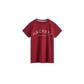 Hackett Tee Logo T Ss Y