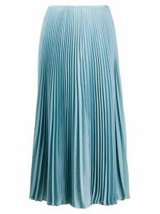 Joseph midi pleated skirt - Blue