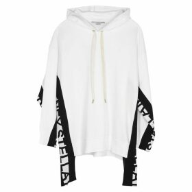 Stella McCartney White Logo Cotton-blend Sweatshirt