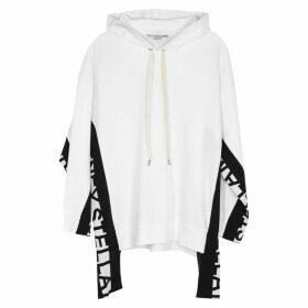 Stella McCartney White Logo Cotton-blend Sweatshirt