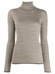 M Missoni striped jumper - NEUTRALS