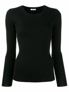 P.A.R.O.S.H. ribbed knit jumper - Black