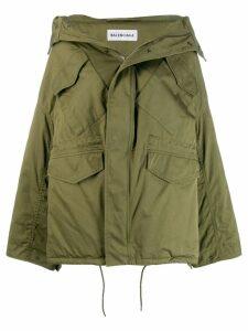 Balenciaga Swing workwear jacket - Green