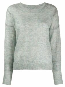 Isabel Marant Étoile Cliftony round neck jumper - Blue