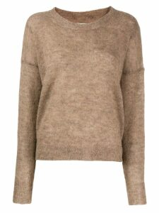 Isabel Marant Étoile Cliftony round neck jumper - Brown
