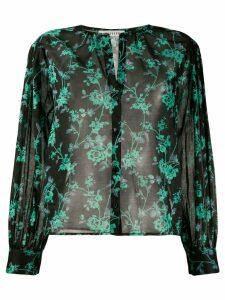 Masscob floral print shirt - Black