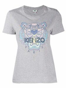 Kenzo tiger print T-shirt - Grey