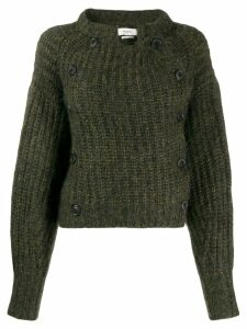 Isabel Marant Étoile double breasted jumper - Green