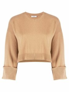 P.A.R.O.S.H. fine knit sweatshirt - NEUTRALS