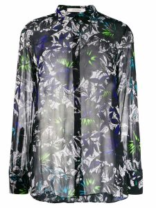 Dorothee Schumacher floral print shirt - Blue