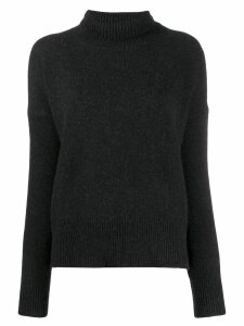 Vanessa Bruno turtleneck long-sleeved jumper - Black