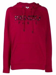 Kenzo logo hoodie - Red