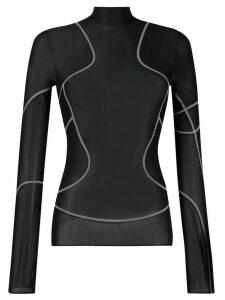 1017 ALYX 9SM Tron mesh top - Black