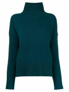 Vanessa Bruno turtleneck long-sleeved jumper - Blue