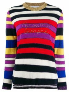 Giada Benincasa striped sweatshirt - Red