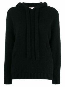 Laneus knitted hoodie - Black