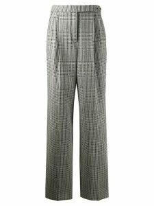 Ermanno Scervino check print trousers - Grey