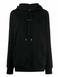 1017 ALYX 9SM logo print oversized hoodie - Black