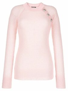 Balmain open-knit jumper - Pink