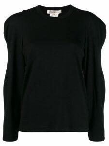 Comme Des Garçons sculptural sleeve jumper - Black