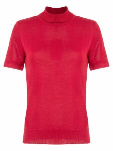 Olympiah Nika polo top - Red